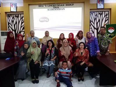 Ketua Tim Adiwiyata MTsN 4 Sidoarjo Ikuti Sosialisasi Adiwiyata Tahun 2020