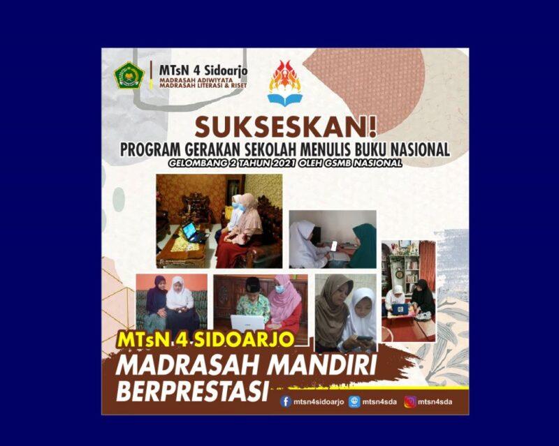 MTs Negeri 4 Sidoarjo GSMB 2021